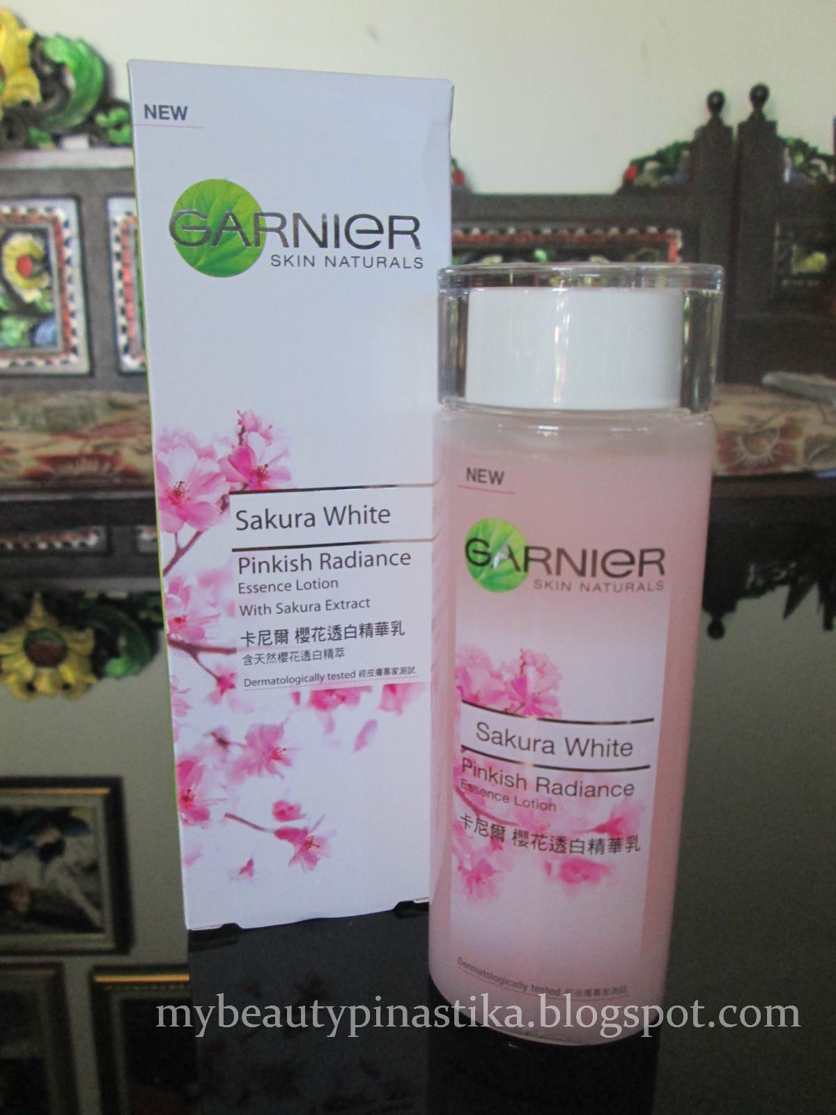 Pinastika Beauty Blog Review Garnier Sakura White Pinkish 18ml Spf21 Saturday September 7 2013