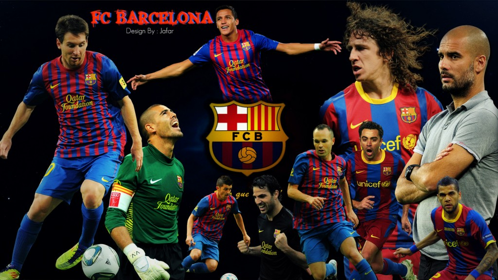 FC Barcelona Team Cool HD Wallpapers 2013