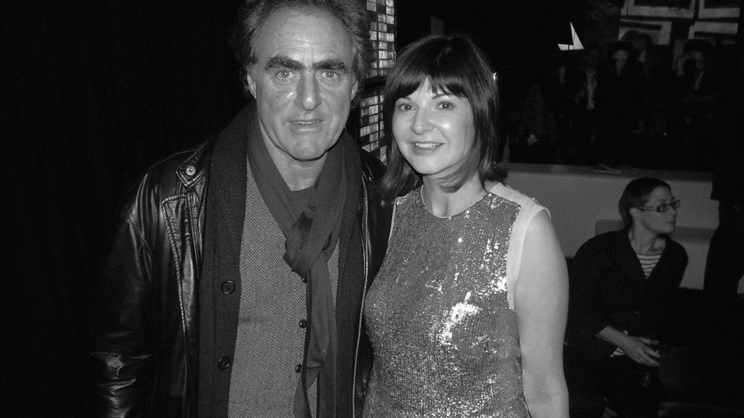 Root's co-founder Michael Budman and FASHION editor-in-chief Bernadette Morra