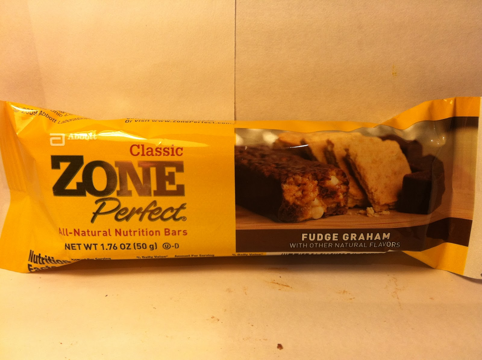 Crazy food dude review zone perfect fudge graham for Food bar t zone