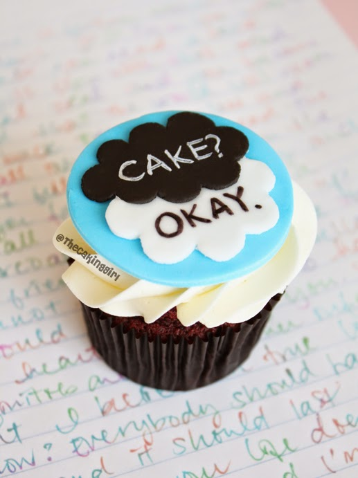 the fault in our stars cupcake