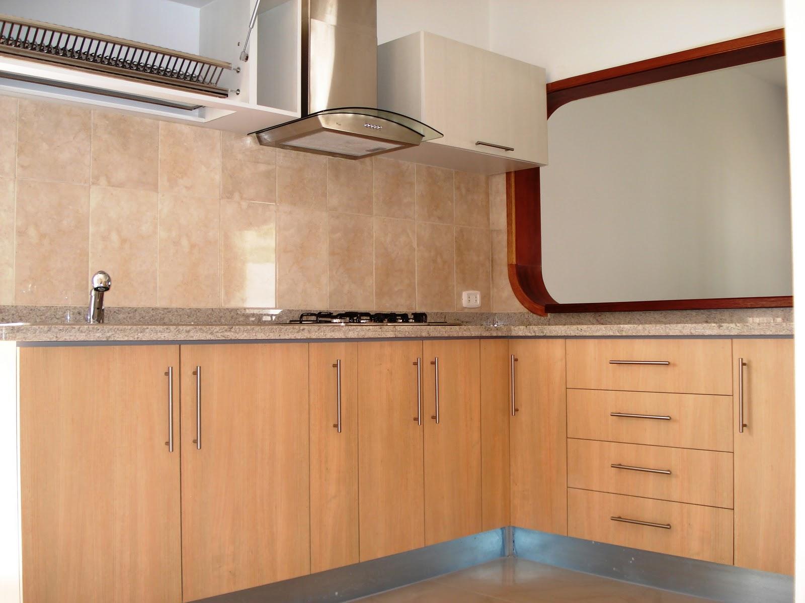 Cocinas empotradas pisos laminados closet s for Cocinas y closets