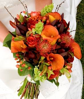 Autumn Bridal Bouquets6