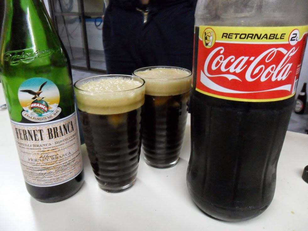 El Fernet con Coca nació en Córdoba, Argentina