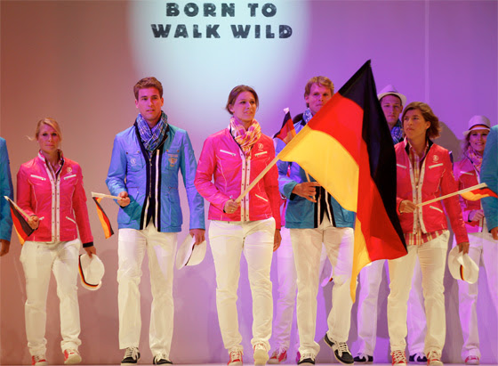 Germany uniform for london olympic