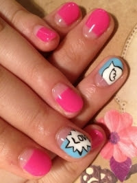 flirty  fun summer nail art  world of fashion