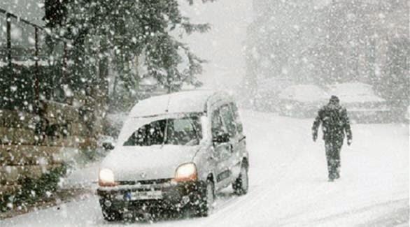 مصرع سوريين اثنين بسبب العاصفة الثلجية