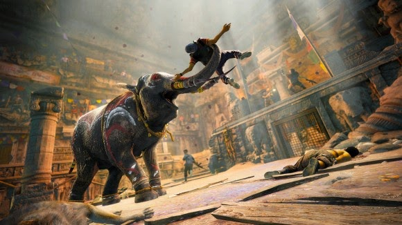 far cry 4 elephant riding