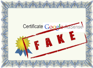 fake adsense certification program