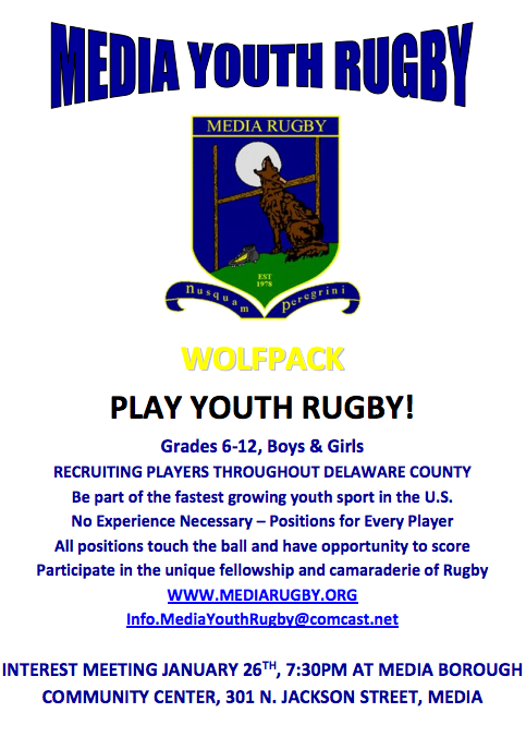 Media Youth Rugby