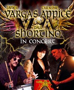Gira por España de Vargas, Appice y Shortino en marzo 2012