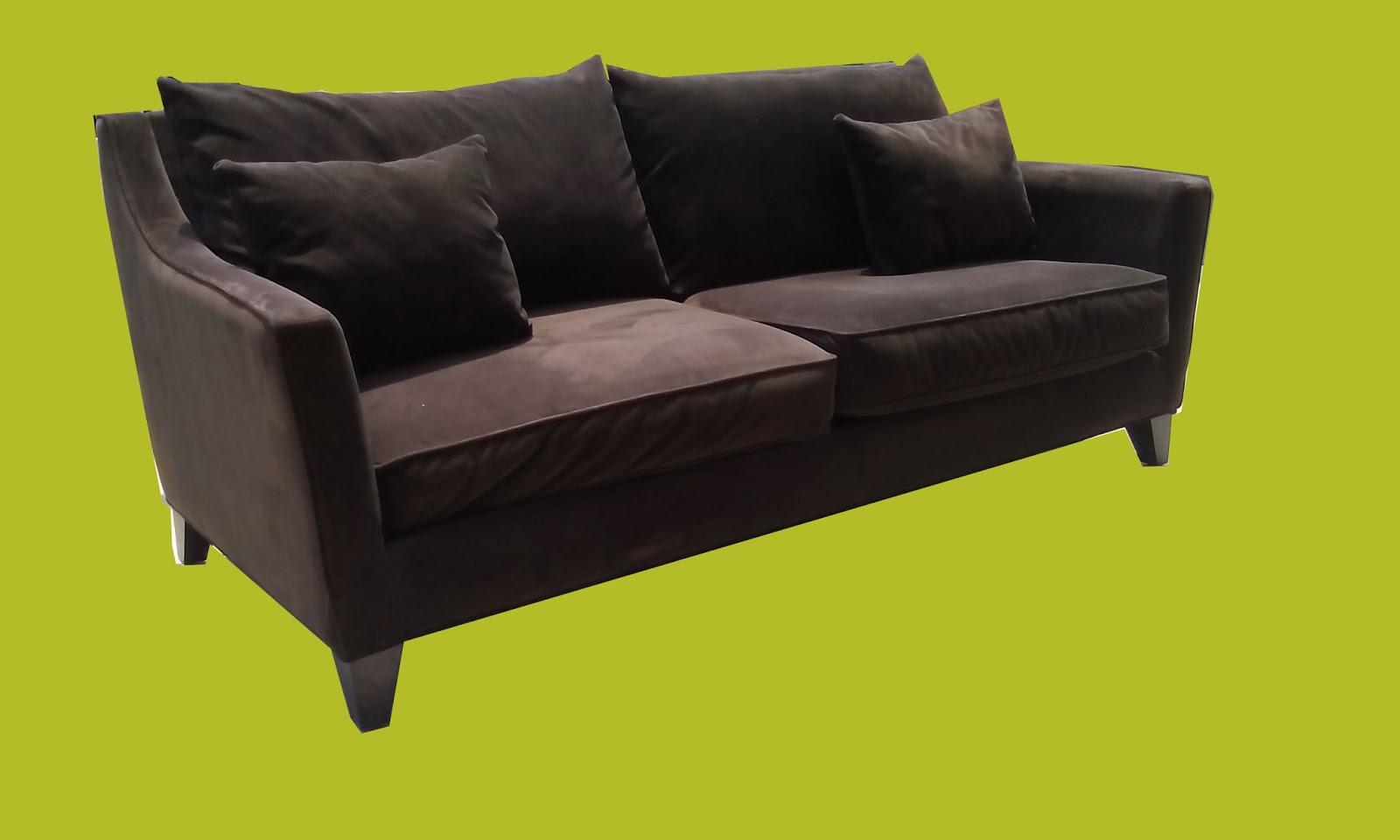 uhuru furniture collectibles chocolate velour sofa