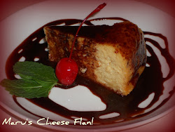 Maru's Cheese Flan