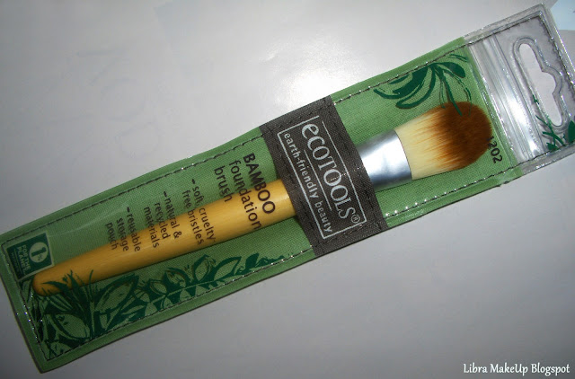 ecotools foundation brush, ecotools brush, fondöten fırçası, foundation brush,