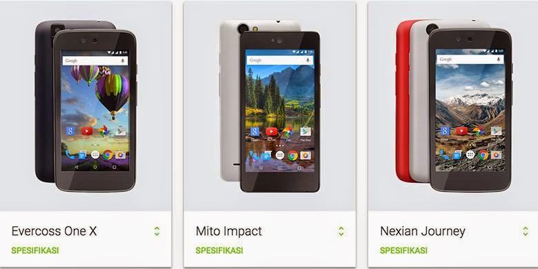 HP Android One Harga Murah Tapi Canggih