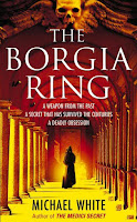Book cover of The Borgia Ring by Michael White