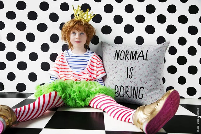 Normal Is Boring la cerise le gateau