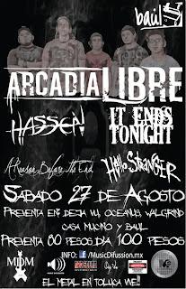 Arcadia Libre en Toluca.