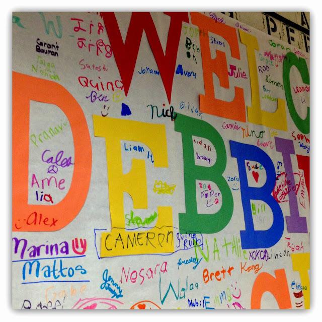 Debbie Clement Welcome for Author-Illustrator School Visit