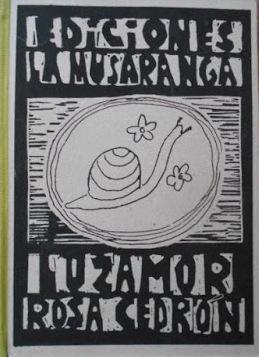 """""""Luzamor"""" de Rosa Cedrón"""