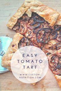 Recipe] Easy Tomato Tart - Lisa Rutledge, RD