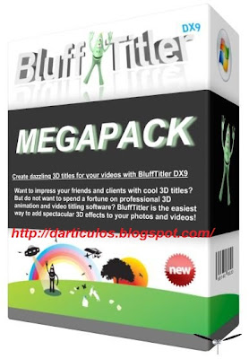BluffTitler DX9 iTV v8.3.1.4 + PORTABLE + Packs Crea atractivos gr�ficos de texto 3D