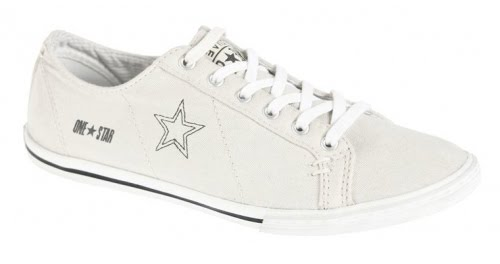 zapatillas blancas Converse Adolfo domínguez