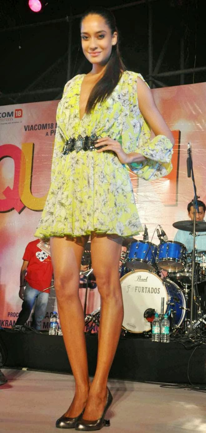 Lisa Haydon Hot Short Mini Dress Pics
