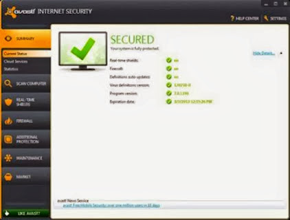 Avast Internet Security 9.0 Final Full