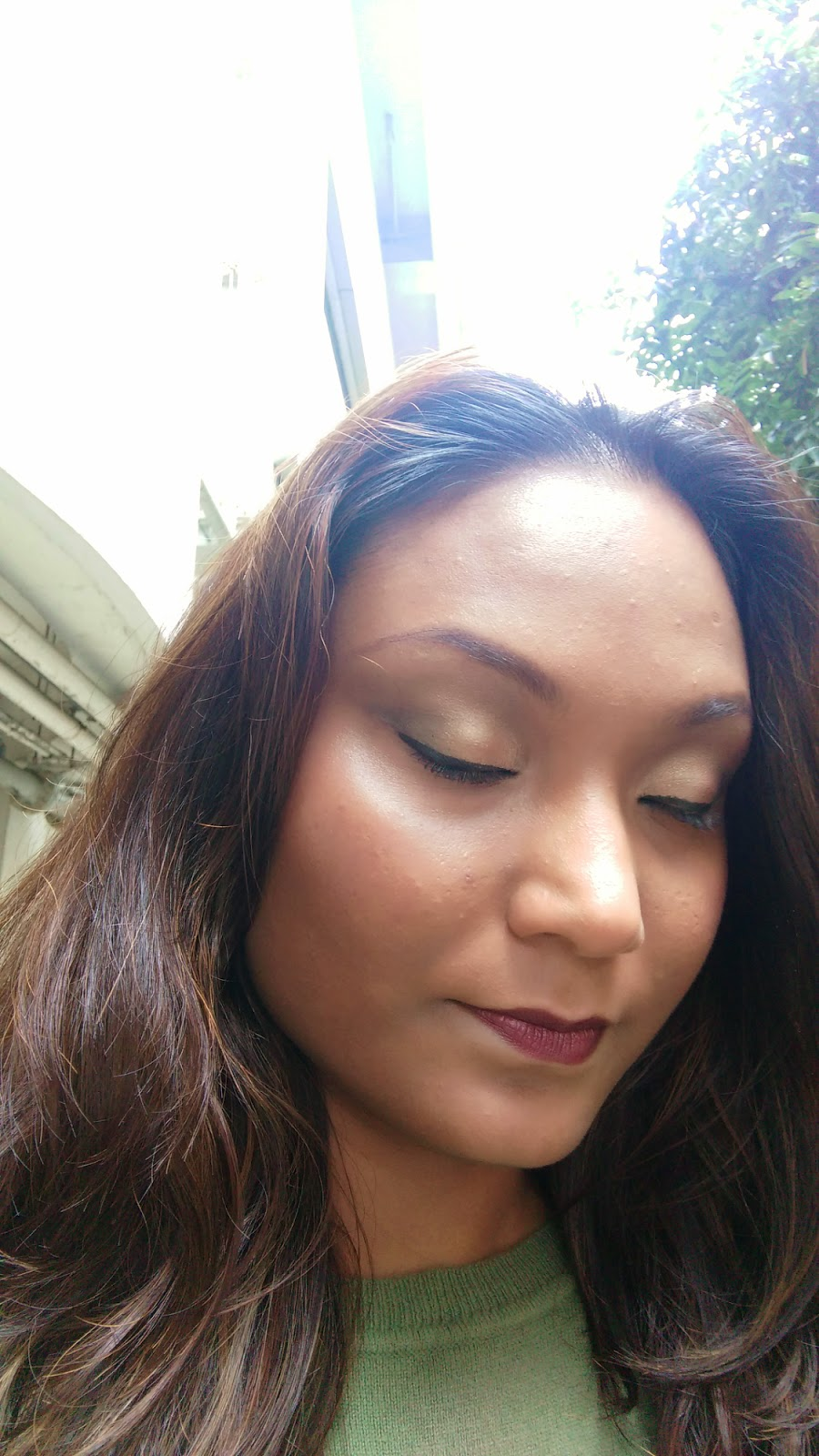 FOTD Moss Green Smokey Eye