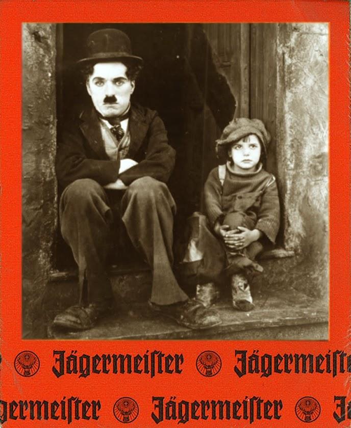 Jägermeister y cerveza.
