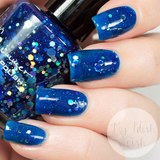 KBShimmer I Got A Crush On Blue Swatch
