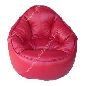Attractive artificial leather bean bag chair
