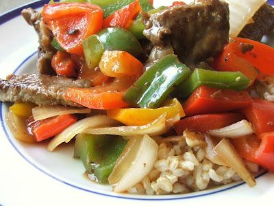when we hear pepper steak we usually think of steak au poivre a juicy ...