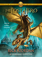 Cover of The Lost Hero by Rick Riordan