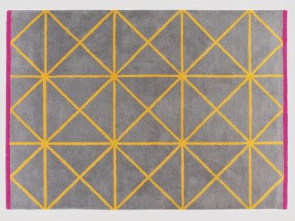 habitat yellow rug
