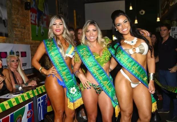 Rô Fraga vence concurso Gata da Copa e diz que a fama é seu objetivo