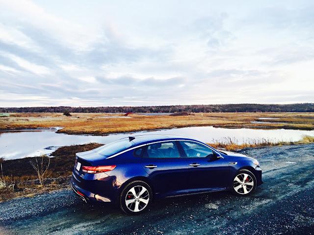 2016 Kia Optima SXL Turbo blue