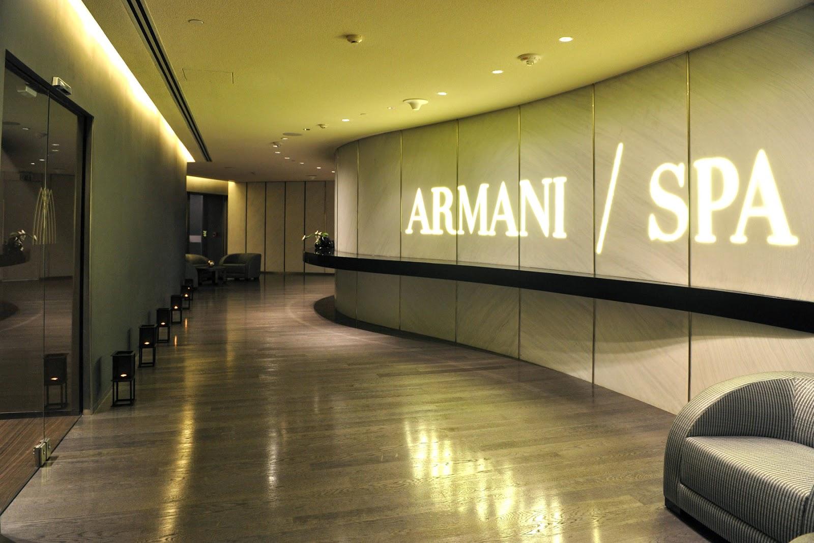 Baño Portatil Japones:LA GUARIDA DE BAM: Hoteles Armani