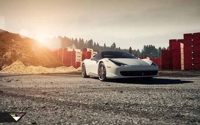 2015 Vorsteiner Ferrari Italia