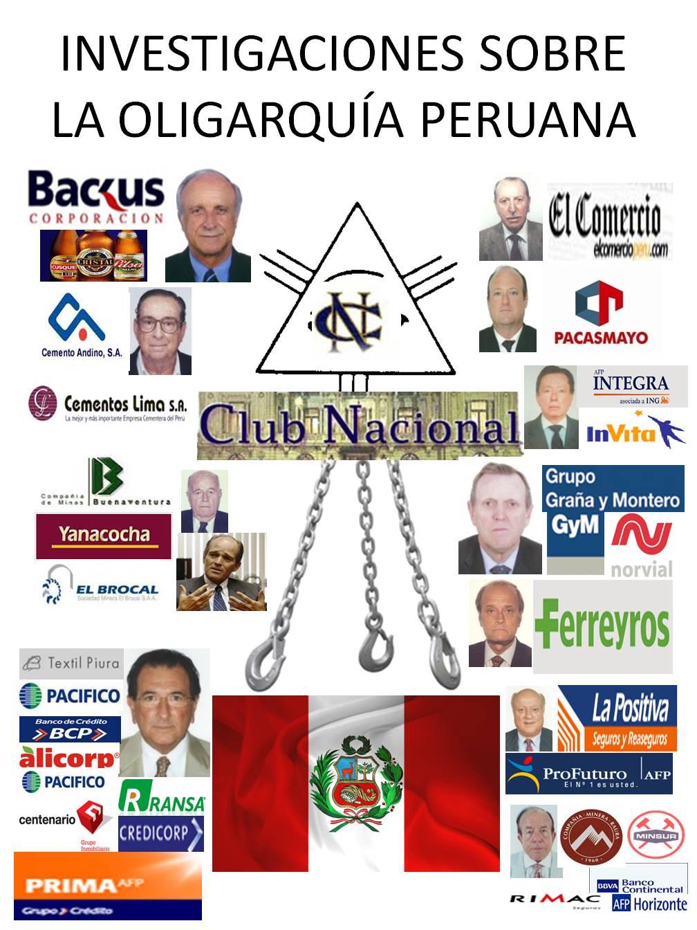 Libro ensayos sobre la oligarquía peruana