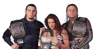 Hardyz Dudleyz Lita Tag TLC Tables
