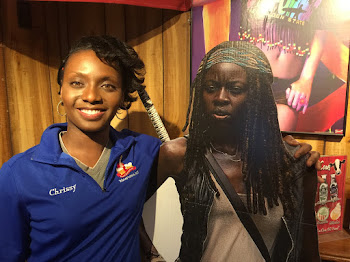 Chrissy & Michonne from The Walking Dead