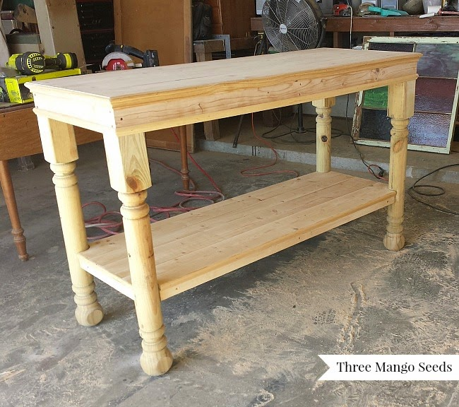 Three Mango Seeds Laundry Room Folding Table