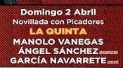 Manolo Vanegas, anunciado en Las Ventas, el 02/04
