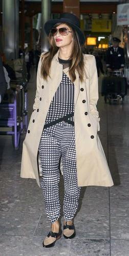 Nicole Scherzinger, travel