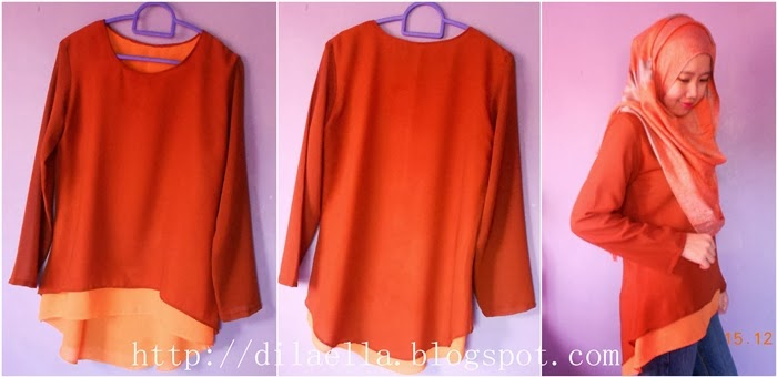 Jahit Blouse Simple 11