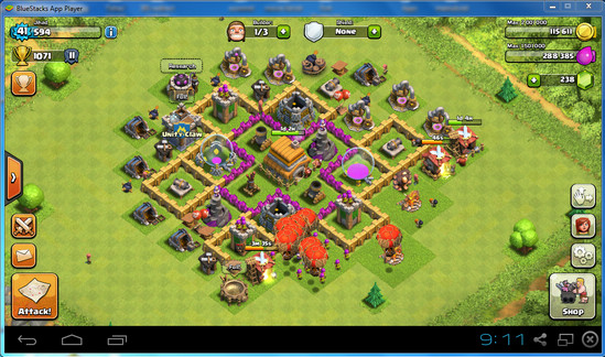 Cara Main Game Clash of Clans (COC) di PC / Laptop - Games PC Full Version