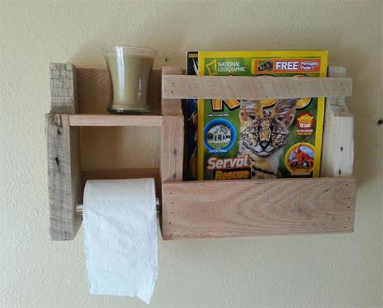 porta papel higienico, toillet paper holder, pallet