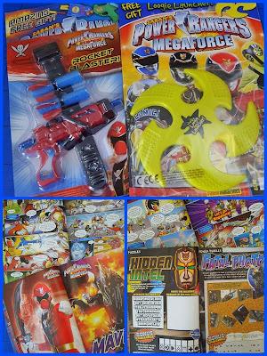 Bandai Power Rangers Super Megaforce magazine
